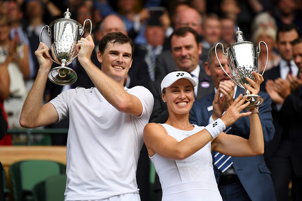 Wimbledon - Mixed Doubles: Dominant Murray and Hingis win it all