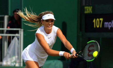 Wimbledon Day 2   Boulter shows great promise