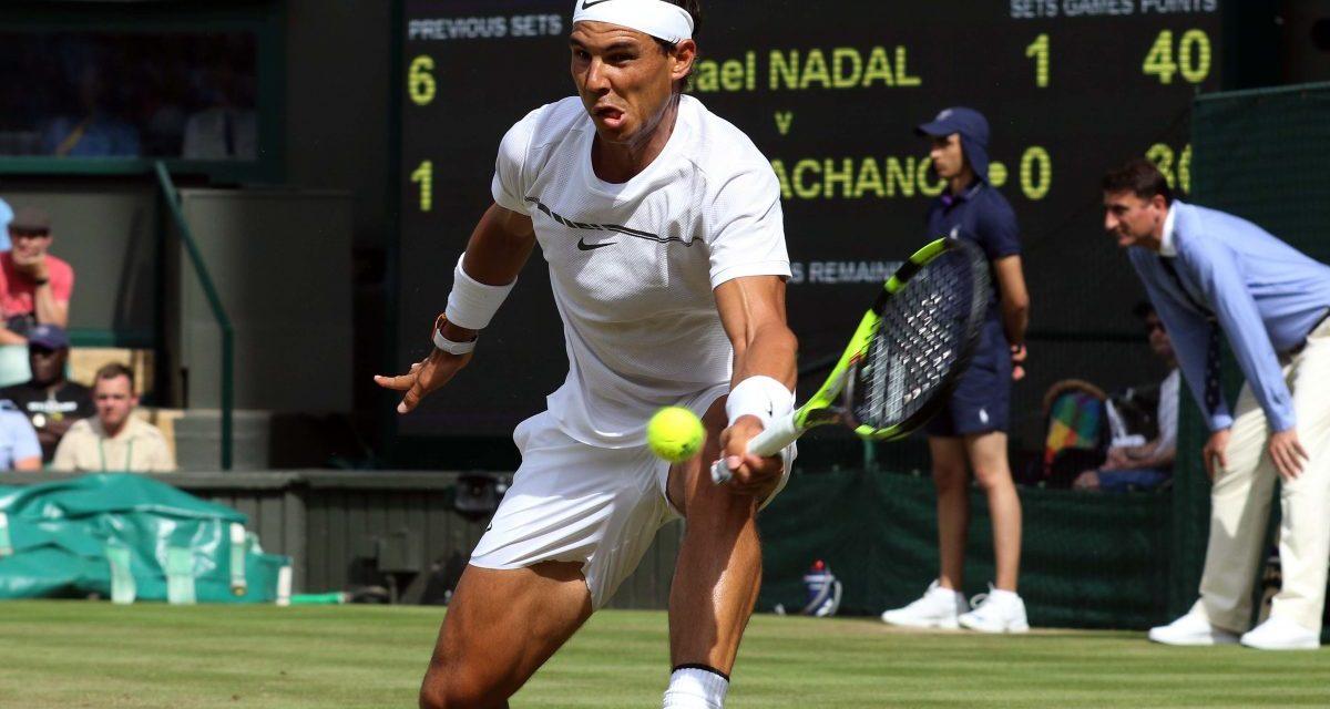 Wimbledon Day 5   Nadal easing towards the top
