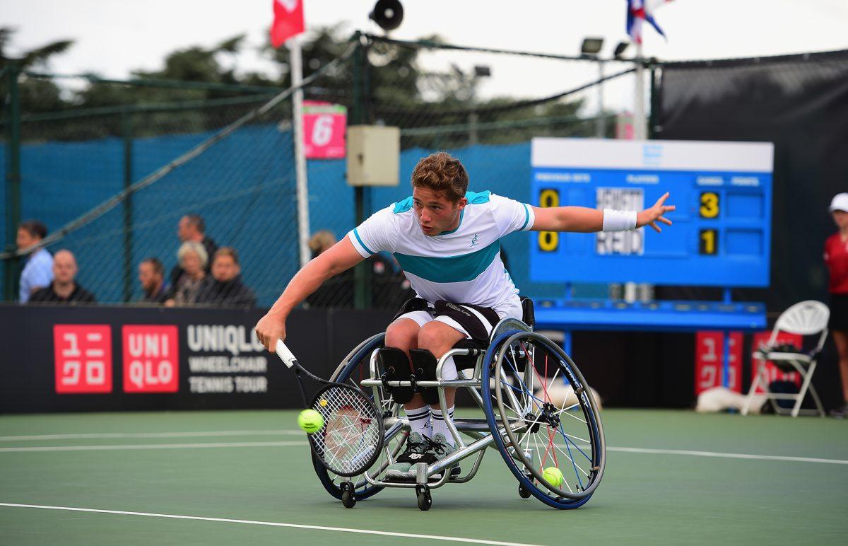 Nottingham | Alfie Hewett takes on world No.1