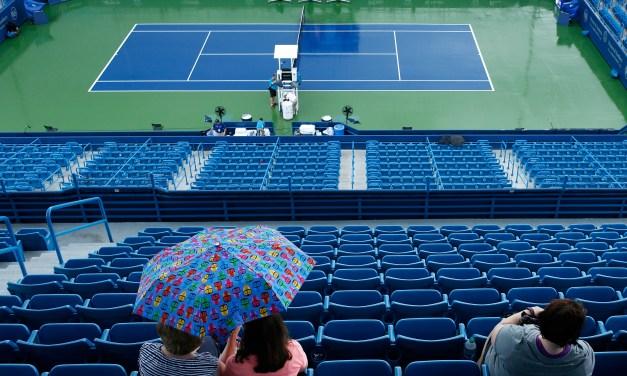 Cincinnati   Rain halts mens play