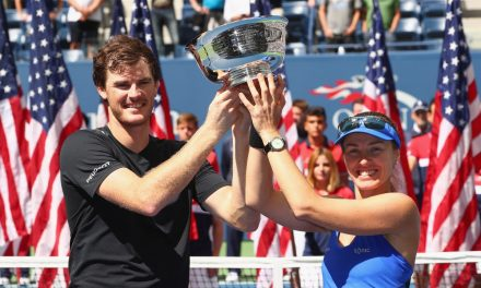 US Open Day 13 | Murray and Hingis US Open Mixed Doubles Champions