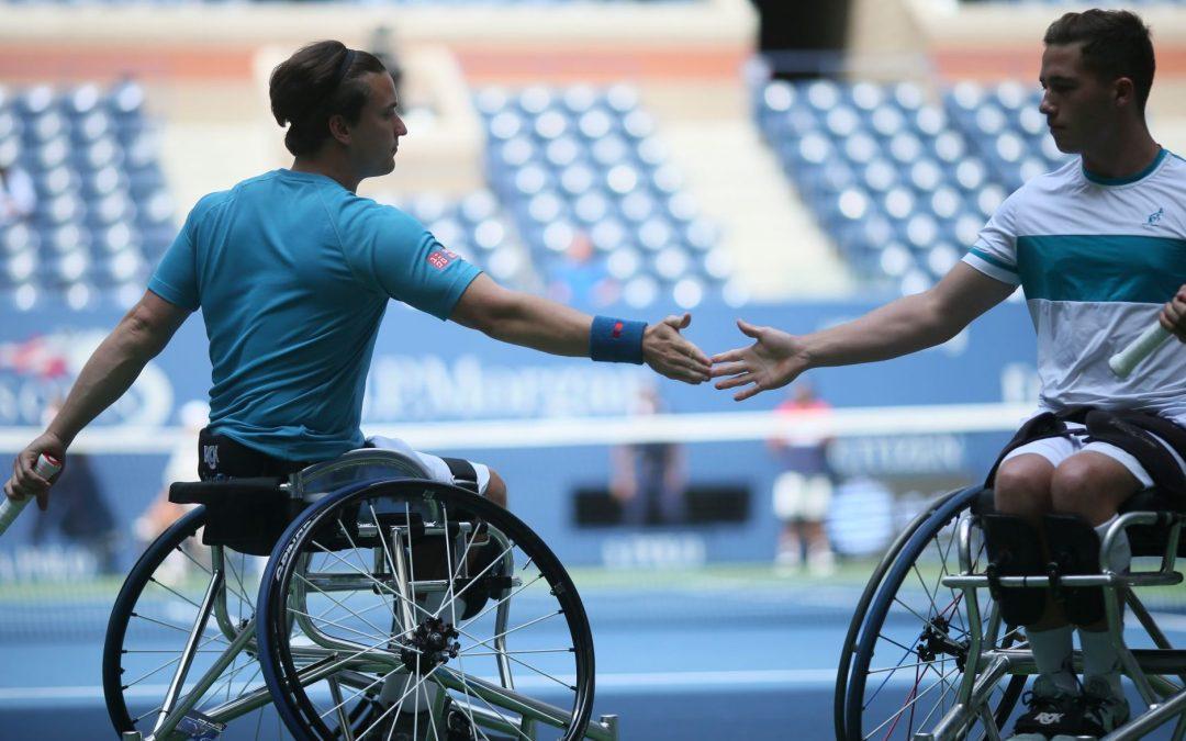 US Open Day 11   Hewett and Reid make history on Arthur Ashe