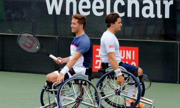 US Open Day 12   Reid and Hewett set up an all-Brit semi-final showdown