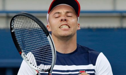US Open Day 11: Britain's Andy Lapthorne ends Alcott's unbeaten run