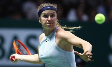 Singapore | Svitolina sends Halep home