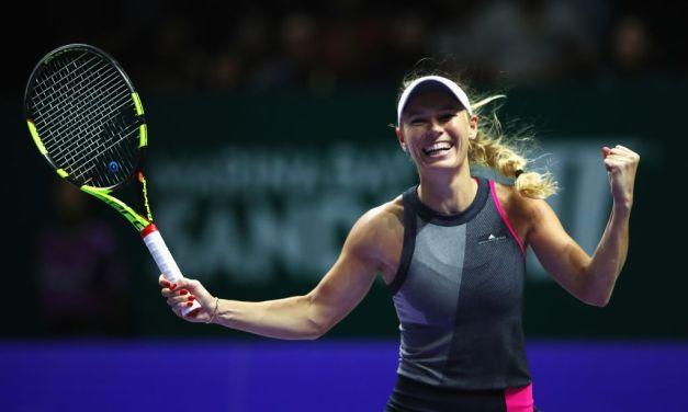 Singapore | Wozniacki wins through to final