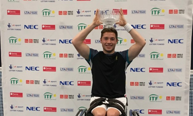 Bath | Alfie Hewett celebrates another big win