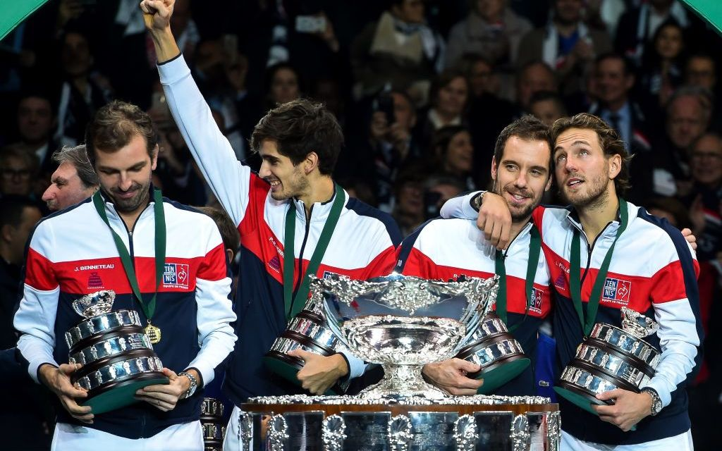 Lille | France triumph in Davis Cup final
