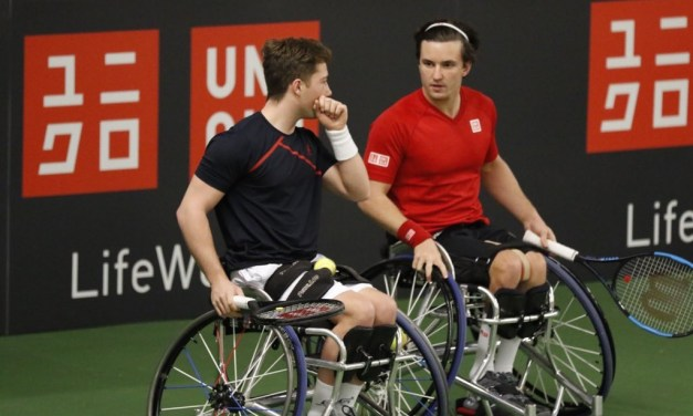 UNIQLO Doubles Masters | Cotterill, Lapthorne, Hewett and Reid remain unbeaten in Bemmel