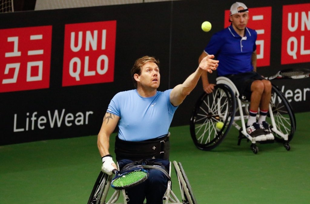 UNIQLO Doubles Masters | Lapthorne and Cotterill through to the quads final