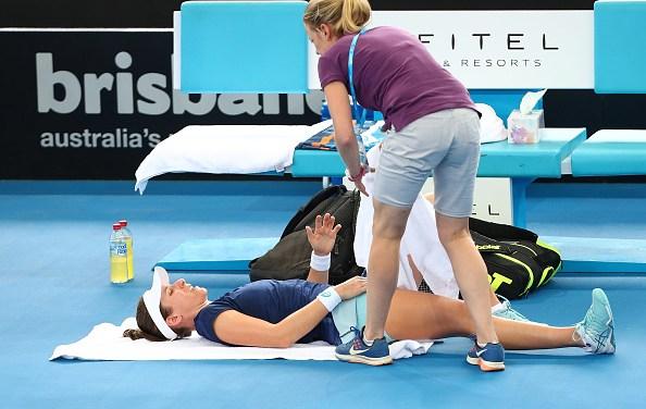 Brisbane | Konta withdraws injured