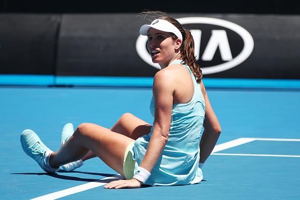 Melbourne | Muguruza follows Konta out of blistering AO