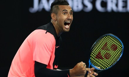 Melbourne | Kyrgios keeps his cool as Tsonga loses his