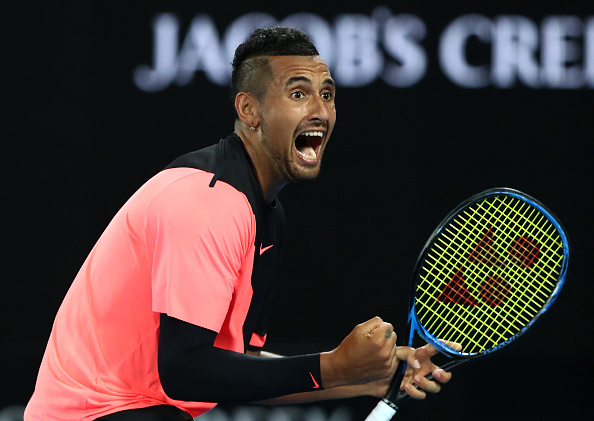 Melbourne | Kyrgios keeps his cool as Tsonga loses his