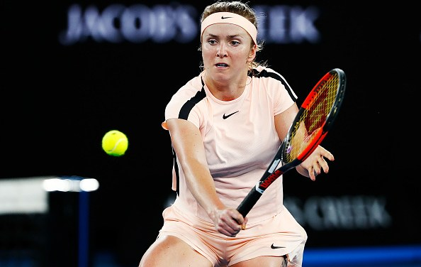 Melbourne   Svitolina swats aside qualifier for place in the quarters