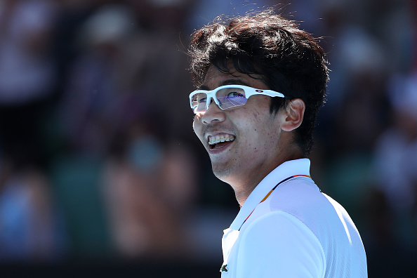 Melbourne | Chung charges through