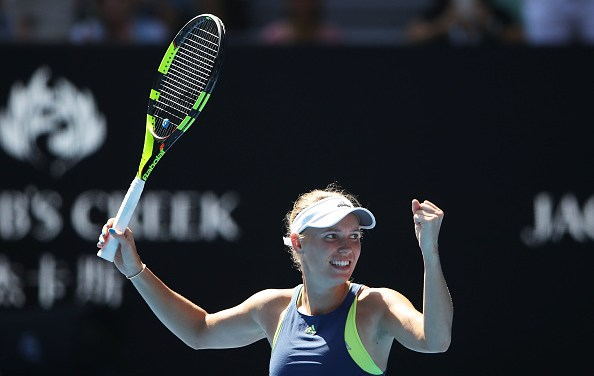 Melbourne | Wozniacki wobbles past Mertens to AO final