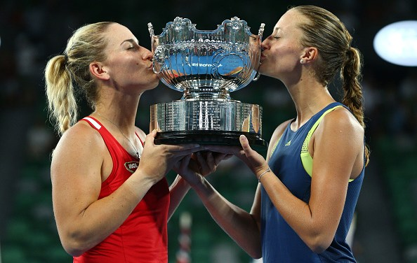 Melbourne | Babos and Mladenovic win first doubles crown