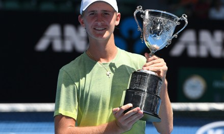 Melbourne | Korda follows Dad to Junior AO win