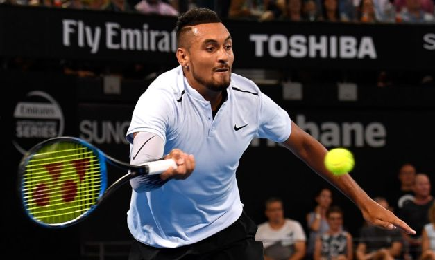 Brisbane | Kyrgios and Harrison make final