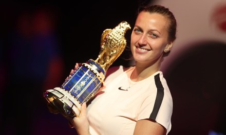 Doha   Kvitova wins battle of Wimbledon champions