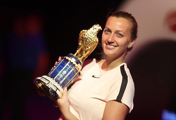 Doha | Kvitova wins battle of Wimbledon champions