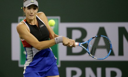 Indian Wells | Muguruza crashes out