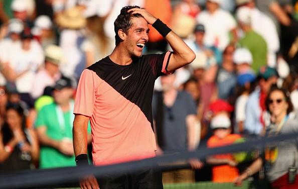 Miami   Kokkinakis KOs Federer
