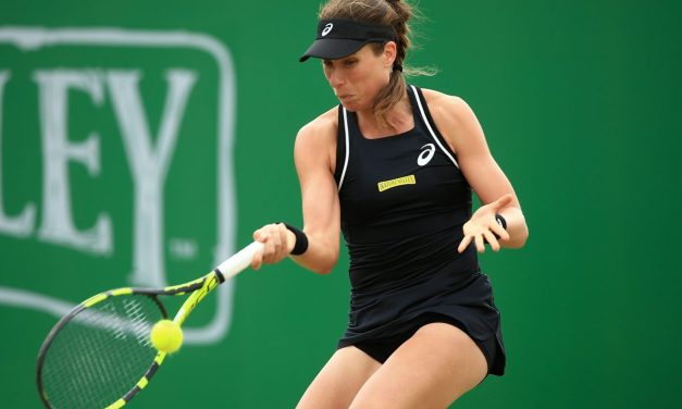 Nottingham | Konta and Vekic replay final