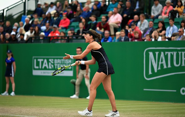 Nottingham | Konta loses her cool and final