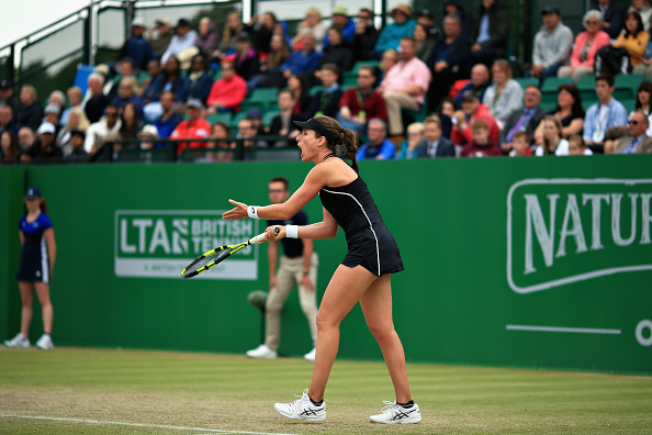 Nottingham   Konta loses her cool and final