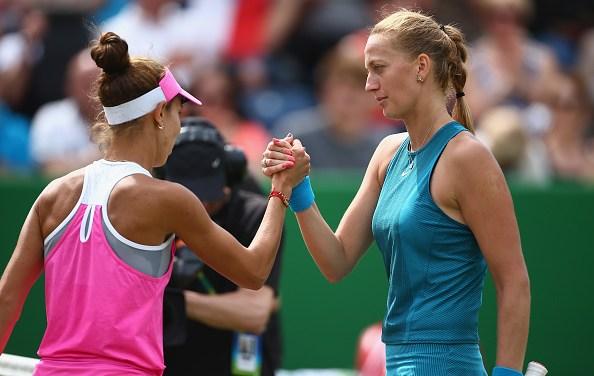 Birmingham | Kvitova and Rybarikova play for history