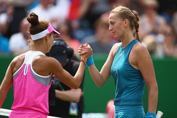 Birmingham   Kvitova and Rybarikova play for history