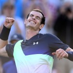 Eastbourne | Murray secures his first win
