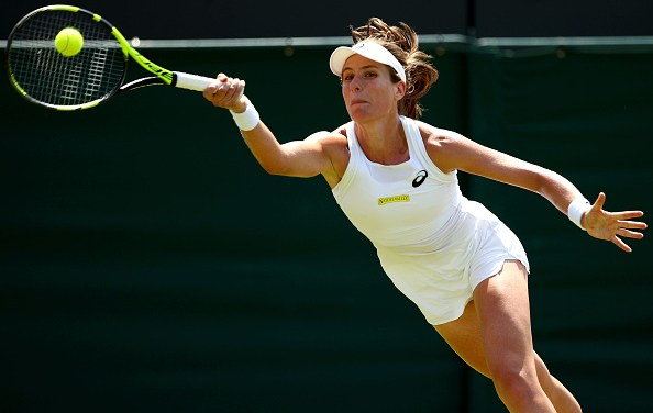 Wimbledon | Konta toughs it out