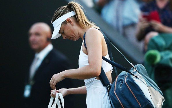 Wimbledon Sharapova crashes out