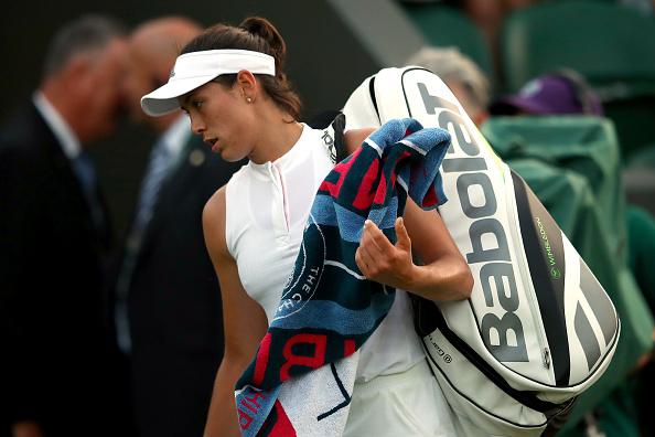 Wimbledon | Muguruza crashes out