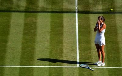 Wimbledon | Goerges surprises herself