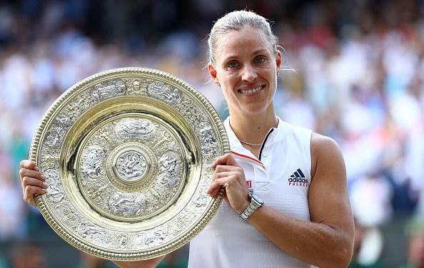 Wimbledon | Angie spoils Serena's day