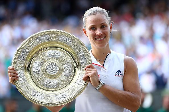 Wimbledon   Angie spoils Serena's day