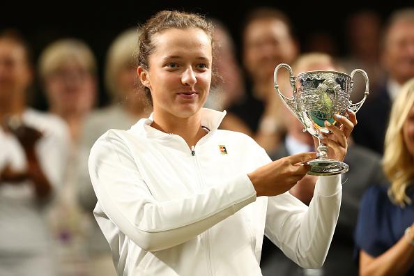 Wimbledon Juniors   Swiatek lifts Girls title
