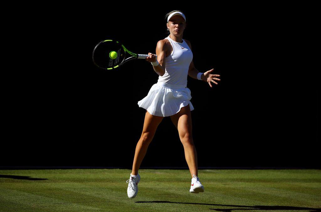 Wimbledon | Swan leads the way