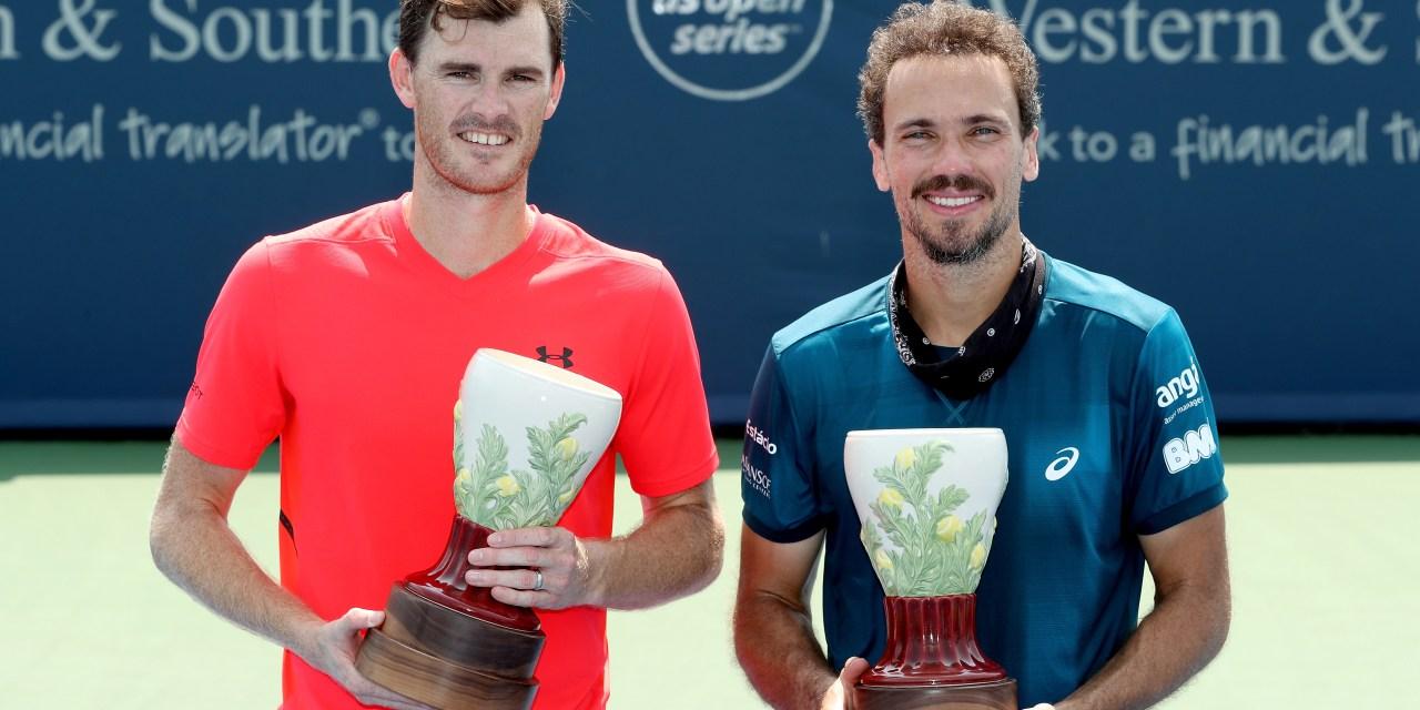 Cincinnati | Jamie Murray and Bruno Soares win doubles final