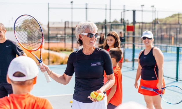 Portugal | Judy Murray partners with The Campus to inspire the next generation of junior players