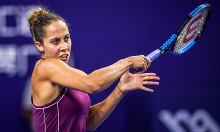 Zhuhai | Keys sees off top-seeded Kasatkina