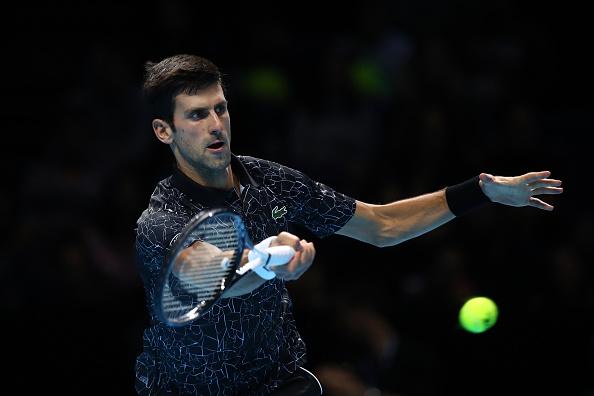 London   Djokovic very much in control