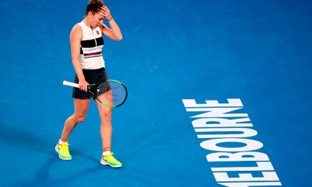 Melbourne   Halep survives again as Serena steps up the pace