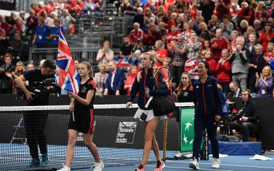 Bath | Boulter and Konta pull off win marred by bad calls.