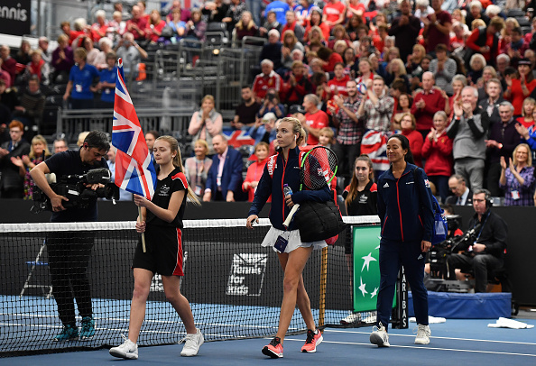Bath   Boulter and Konta pull off win marred by bad calls.
